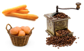 Une minute de philosophie : carottes, œuf ou café ?