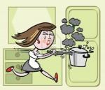 femme en cuisine