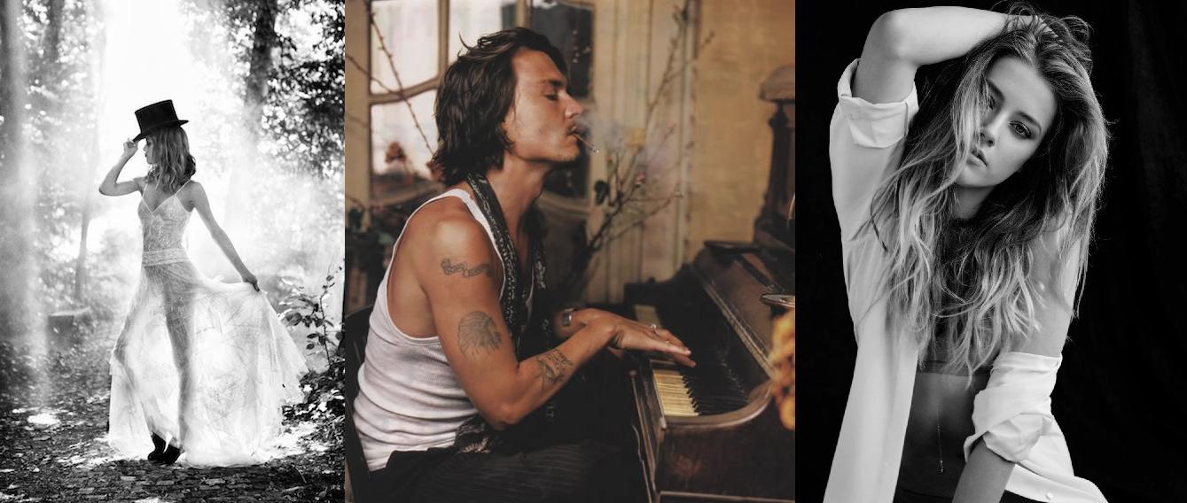 Johnny Deppe Amber Heard Vanessa Paradis - johnny depp mariage