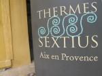 SPA des Thermes Sextius, Aix en Provence