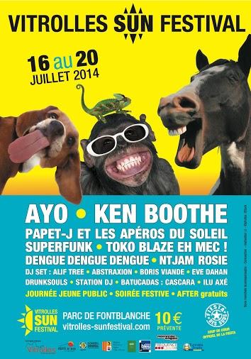affiche vitrolles sun festival 2014