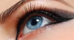 Maquillage des yeux bleus