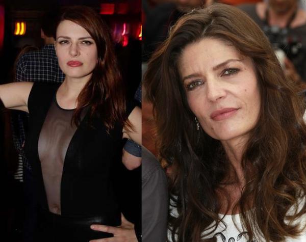 Ressemblance Elodie Frégé Chiara Mastroianni