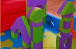 cubes en mousse géants - noël 2014 - jouets bébé 18 mois