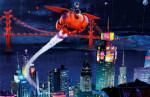 affiche Les nouveaux héros Disney Marvel - big hero 6 - marvel heros