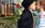 joyeux saint valentin - cupidrone - la joie des fleurs - rose rouge amour