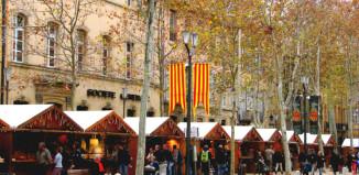 marché de noël Aix en Provence - Calissoun - Calissons Aix