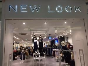 La devanture de la boutique NEWLOOK
